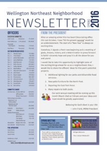 thumbnail of 2016 Spring Newsletter